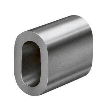 Presilha de alumínio para cabo de aço